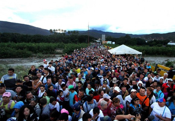 Venezolanos en Colombia: impresiones tras una hora en la frontera