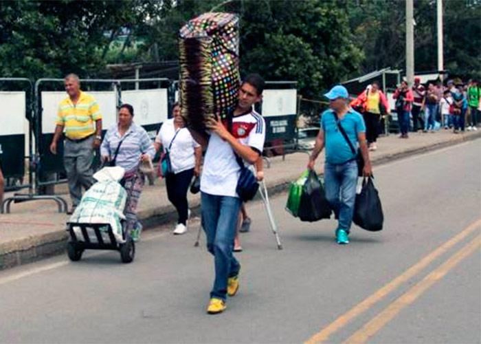 Comerciantes y cambistas cucuteños hacen su agosto con la apertura de la frontera