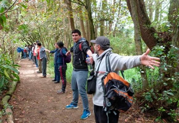 Los vigilantes de la Reserva Van der Hammen en Bogotá