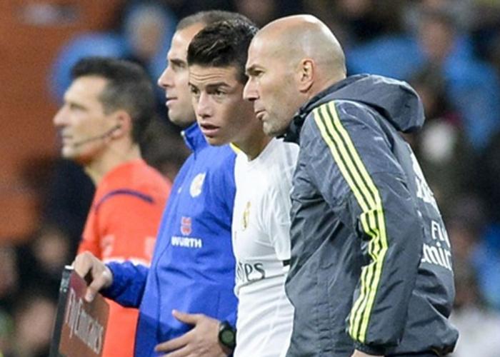 James-Zidane: la magia contra el mercado