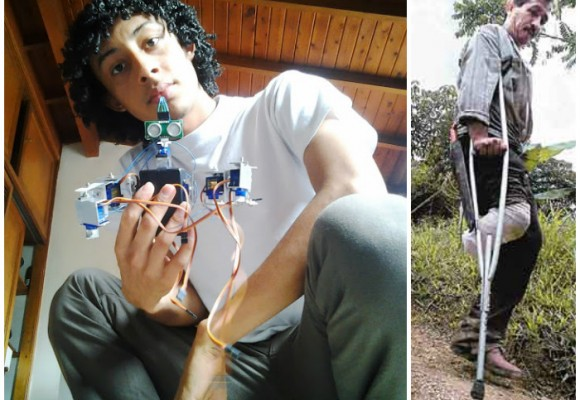 Un dron made in Apartadó, el arma para acabar con las minas antipersonas en Colombia