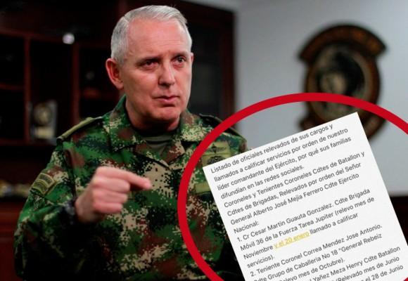 Purga interna en el Ejército: ¿Indisciplina frente al proceso de paz?