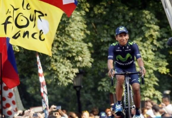 Tour de Francia: 'Firmes y dignos, general Quintana'