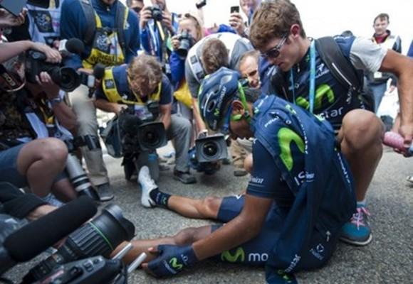 Los ciclistas fueron a un ritmo diferente que los medios en el Tour de Francia
