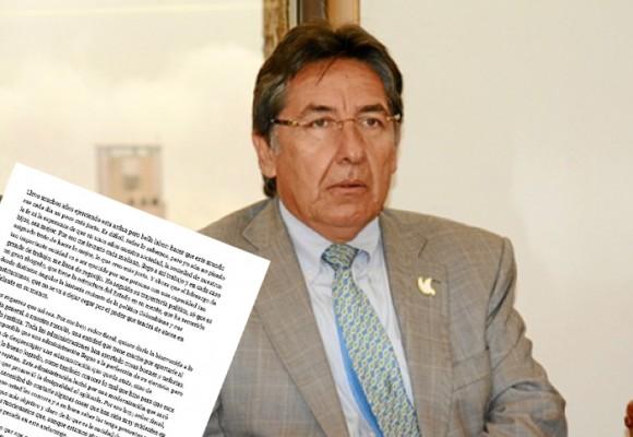 'Señor fiscal: ojo con los movimientos extraños al interior de la Fiscalía'