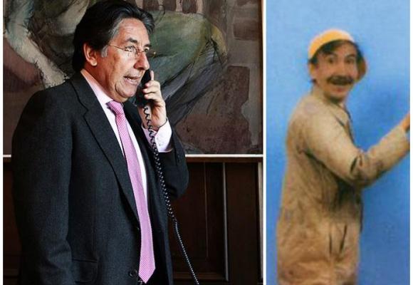 El maestro Salustiano, el papá del fiscal que hacía reír a Colombia