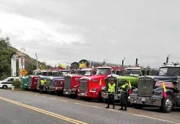Soatá, un municipio incomunicado por el Paro Camionero