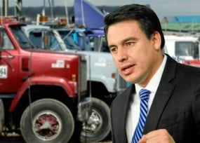 Se rompió la negociación con los camioneros
