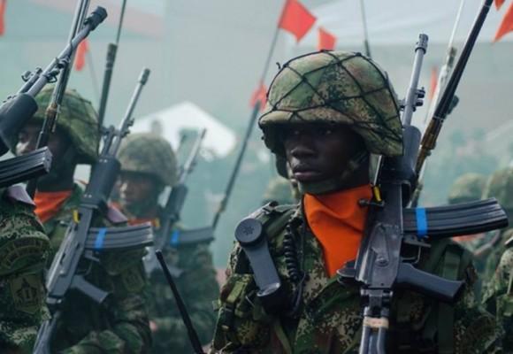 El último desfile militar en Putumayo bajo la lupa de la guerra