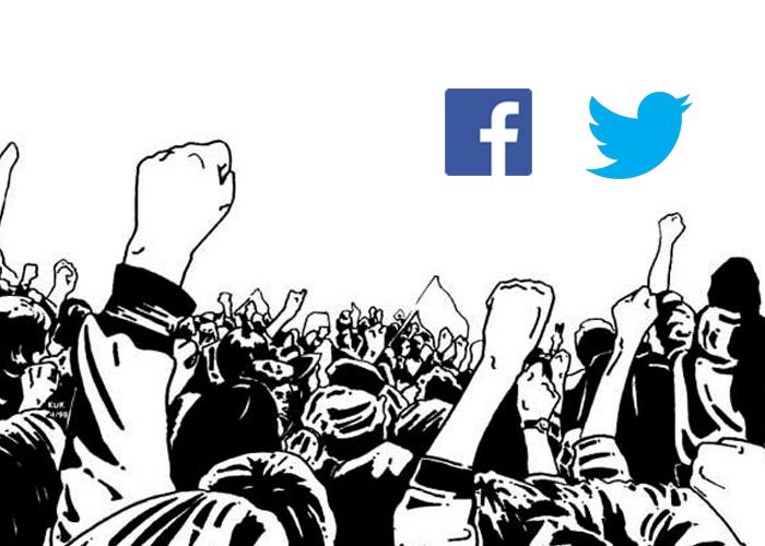 Las redes sociales como escenario de lucha social