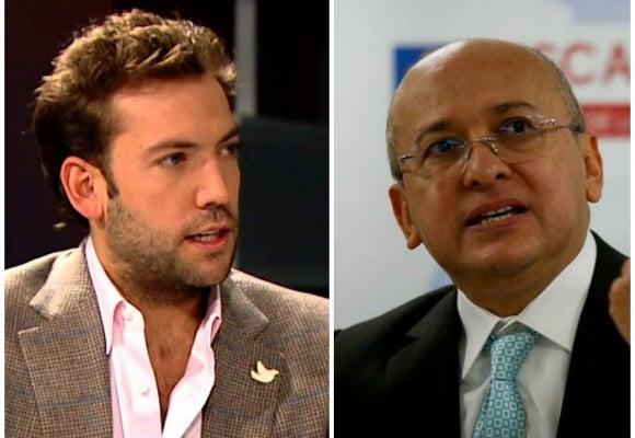 Martín Santos se mete con el exfiscal Montealegre