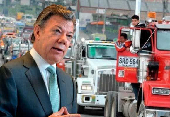 Los camioneros prenden motores: se firmó el fin del paro nacional