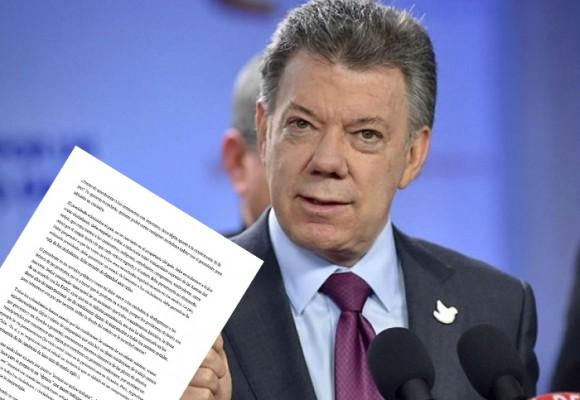 Carta abierta al Presidente Santos sobre el Paro Camionero