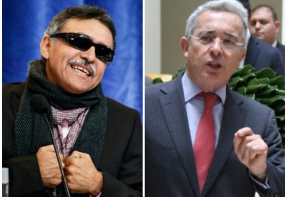 """""""Uribe es paraco, narco, criminal"""": Santrich, negociador de las Farc"""