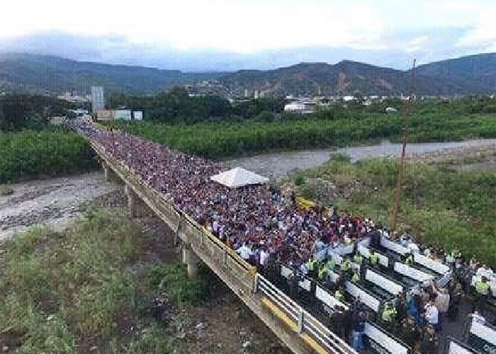 """""""Venezolanos, vengan tranquilos, no los humillaremos como hicieron ustedes con nosotros"""""""
