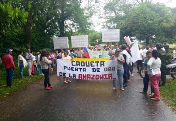¡NO a la explotación de petroleo en el Caquetá!