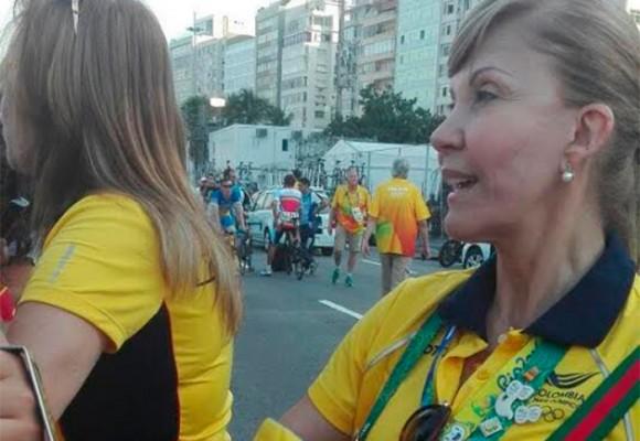 La colada de Dilian Francisca Toro con falsa acreditación en los Olímpicos de Río