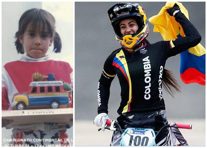 Los 18 huesos rotos que no pudieron sacar a Mariana Pajón del ciclismo