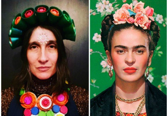Andrea Echeverri, la Frida Kahlo colombiana
