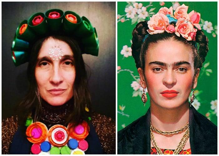 Andrea Echeverri En Los Grammy: Andrea Echeverri, La Frida Kahlo Colombiana