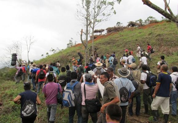 Campesinos del Caquetá insisten: No a la explotación de petróleo en su región