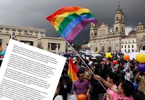 Carta abierta de un cristiano a los gays en Colombia