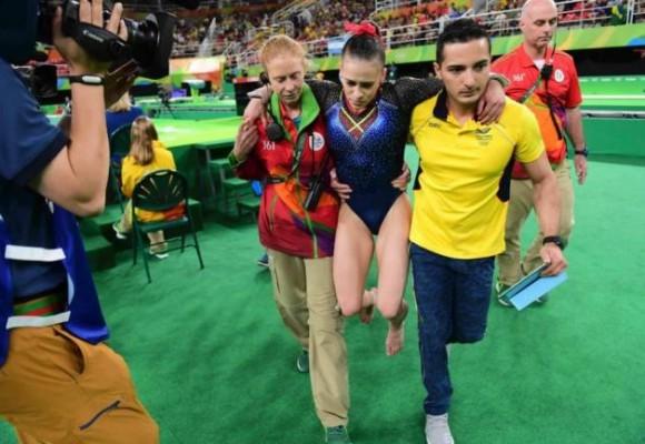 En video: La gimnasta Catalina Escobar y su lesión en los Olímpicos de Río