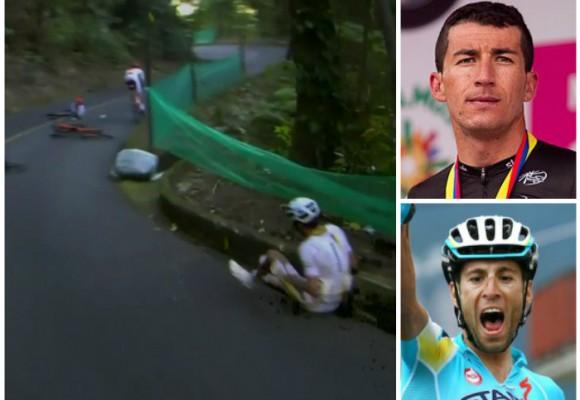 La mala suerte que persigue al ciclista Checho Henao