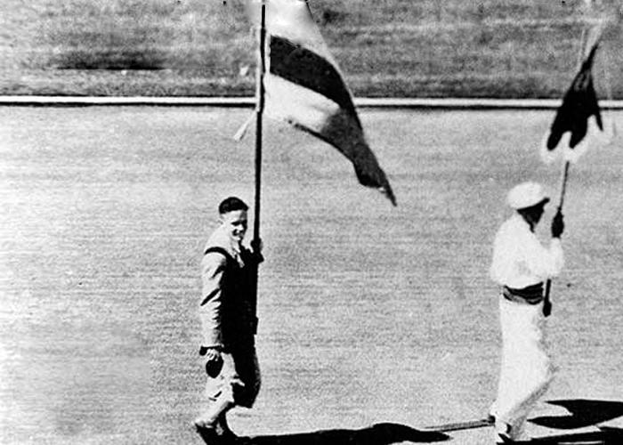 Jorge Perry Villate, el primer colombiano en unos Juegos Olímpicos
