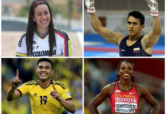 Colombianos en Juegos Olímpicos de Río: programación completa
