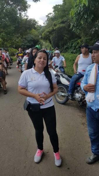 Sandra Milena Lozada Floriano, alcaldesa de El Doncello