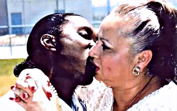 Griselda Blanco con su último novio Charles Cosby