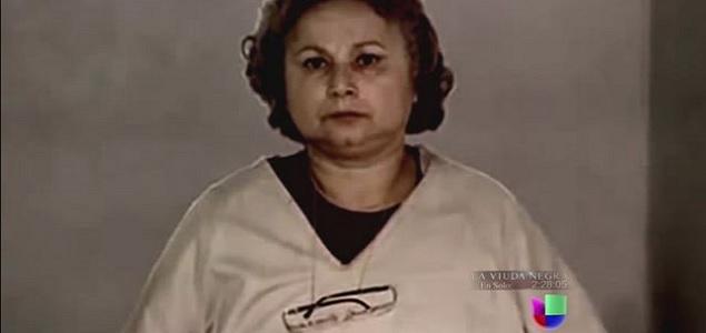 Griselda Blanco cumpliendo su condena en una cárcel de Estados Unidos