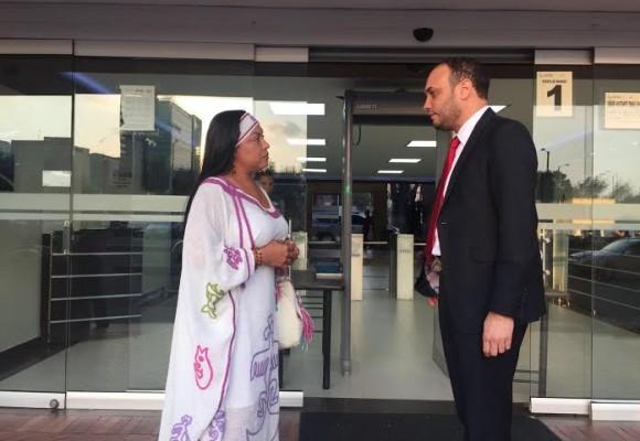 Oneida Pinto y Alfredo Deluque: puja por la bendición presidencial