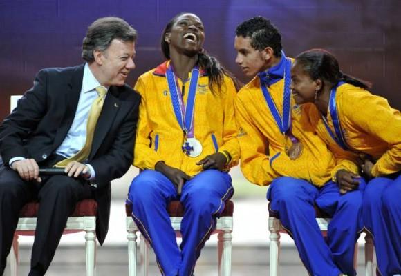 Juan Manuel Santos también le quedó mal a Caterine Ibargüen