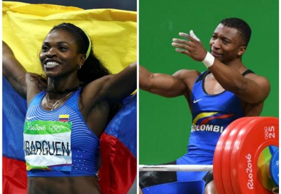 ¿Cuánto ganaron Caterine Ibargüen y Óscar Figueroa por sus medallas de oro?