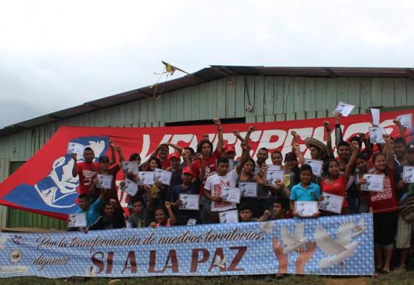 Jóvenes del Cauca se la juegan por la paz