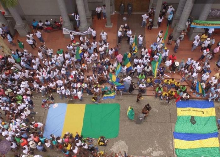 En video: así marchan los habitantes del Chocó