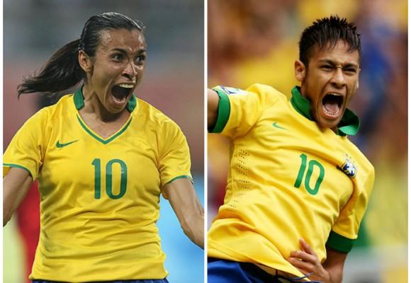 Marta Vs. Neymar ¿El fútbol masculino mata al femenino?