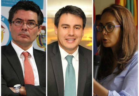 Alejandro Gaviria, Jorge Rojas y Gina Parody, los ministros que se rajan