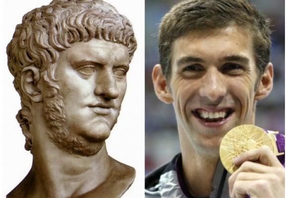 Nerón y Phelps: las leyendas olímpicas más premiadas de la historia
