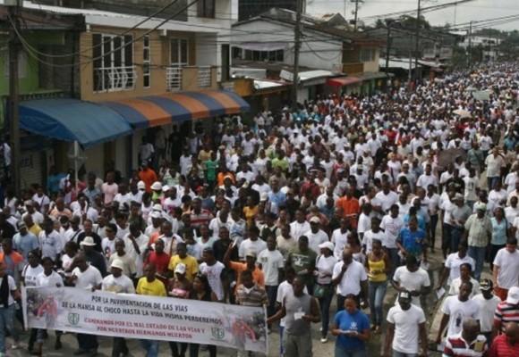 El paro en el Chocó: un despertar de los indignados