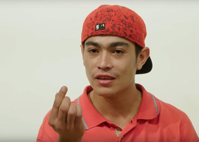 Picachu, el tragafuegos de las comunas de Medellín