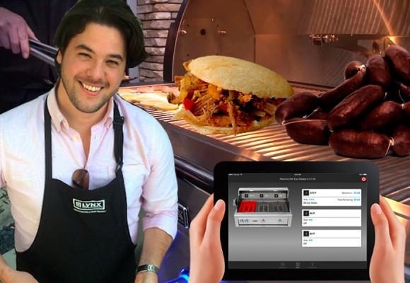 El robot que prepara comida colombiana en Los Ángeles