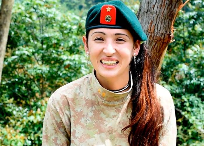 Tania, Albania Tolima, 27 años. 10 en las Farc