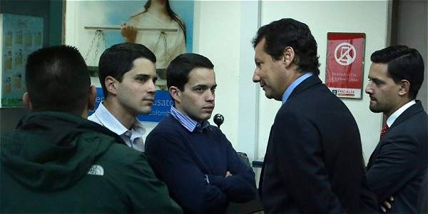 Tomás y Jerónimo Uribe se han defendido diciendo que se trata de un montaje en su contra. Acudieron al bunker acompañados de su abogado Jaime Lombana