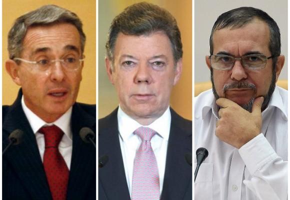 El forzoso destino de Uribe, Santos y las FARC