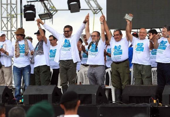 Los comandantes de las Farc en Cartagena