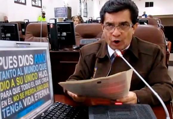 Concejal Marco Fidel Ramírez: ¡Usted no nos representa!
