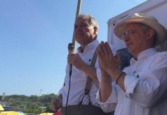 Video: El debut político de Alejandro Ordóñez en tarima con Álvaro Uribe